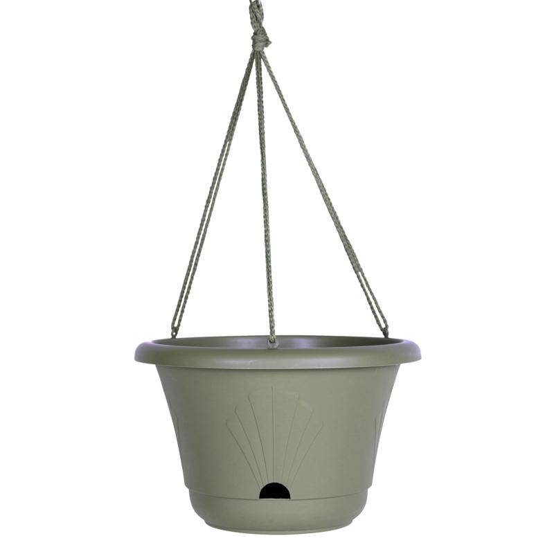 """Bloem Lucca 2-Gallon Self-Watering Hanging Basket - 13"""""""