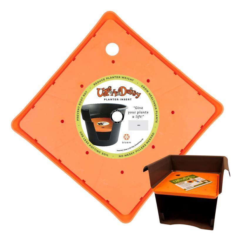 Bloem Ups-A-Daisy 11-inch Square Planter Lift Insert