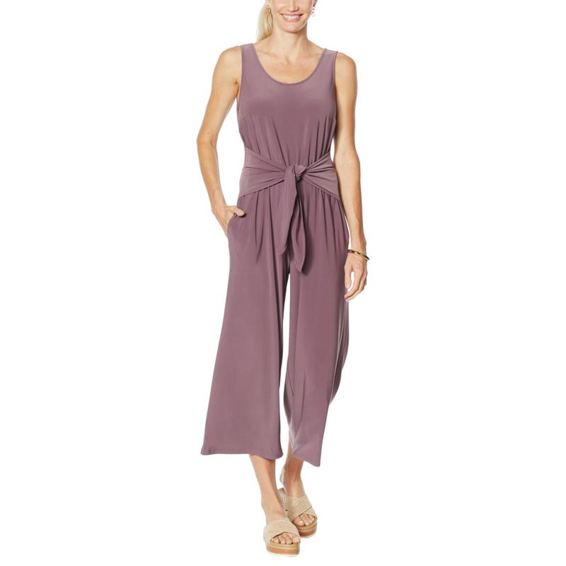 Brittany Humble Tie-Front Jumpsuit