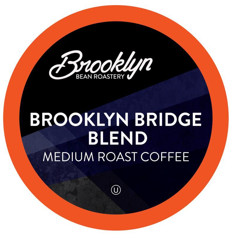 Brooklyn Beans Brooklyn Bridge Blend Coffee Pods 40-count