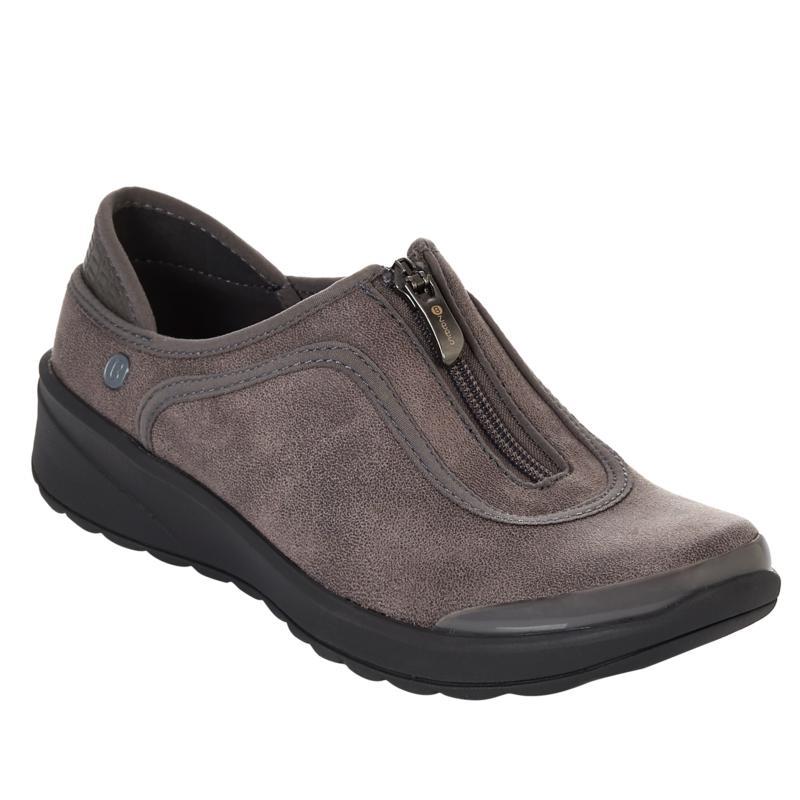 Bzees Glaze Washable Zip-Front Shoe