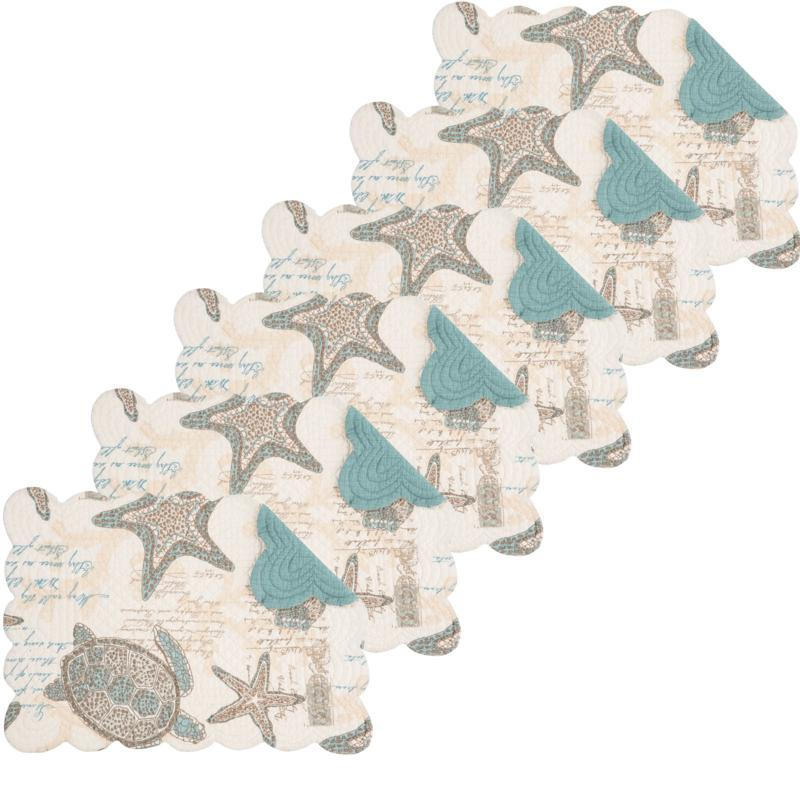 C&F Home Amber Sands Placemat Set of 6