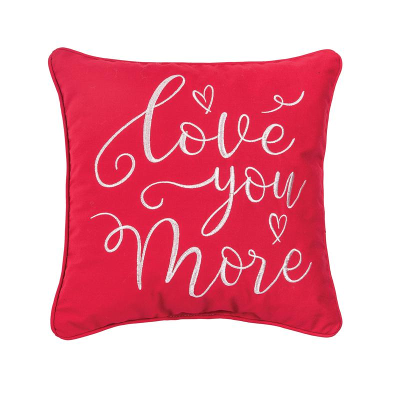 C&F Home Love You More Pillow