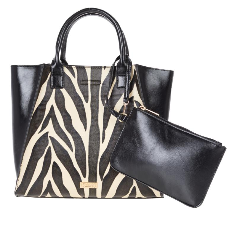 Carlos by Carlos Santana 3-in-1 Tote, Drop-In Pouch and Wristlet
