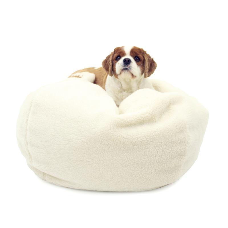 Carolina Pet Company Sherpa Puff Ball® Pet Bed - Medium