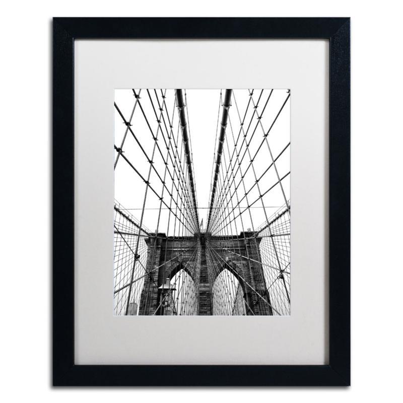 """CATeyes """"Brooklyn Bridge 3"""" Framed Art"""