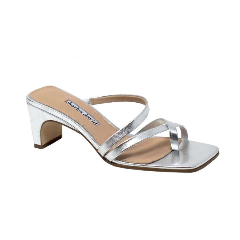 Charles David Henry Strappy Leather Sandals
