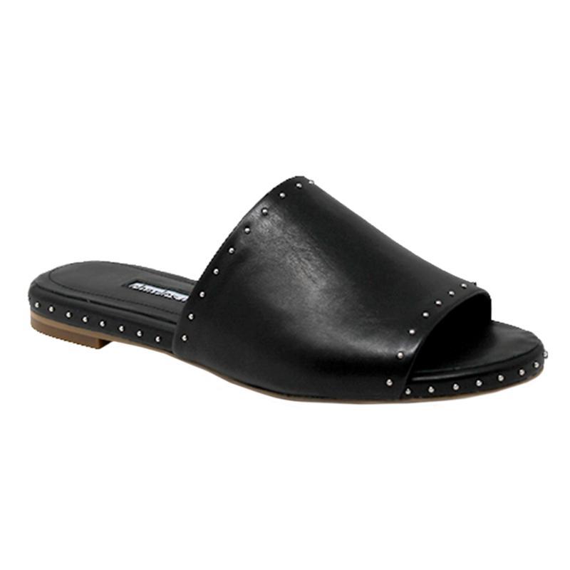 Charles David Sheriff Leather Slide Sandal