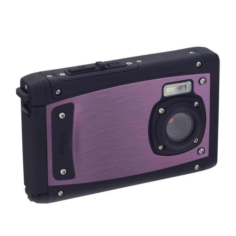 Coleman C40WP 20MP Waterproof Digital Camera with 8x Digital Zoom