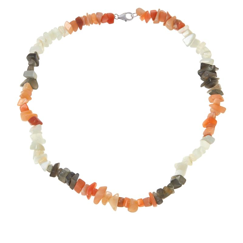 """Colleen Lopez """"Colors of Moonstone"""" Necklace"""