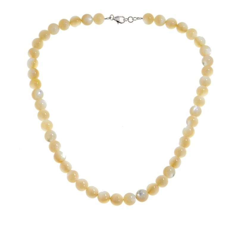 Colleen Lopez Mother-of-Pearl Beaded Necklace