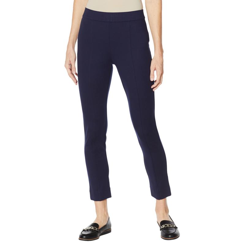 Colleen Lopez Skinny Ponte Pant with Power Mesh Panel