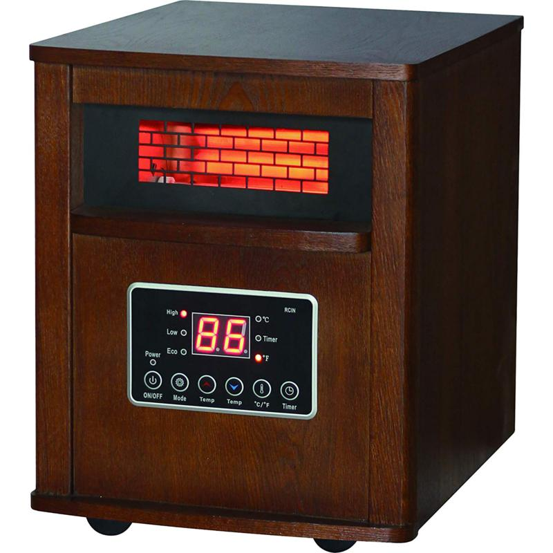 Comfort Glow™ Quartz Heater with Remote