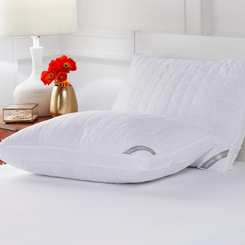 Concierge Collection 2-pack ComforDry™ Moisture-Wicking Jumbo Pillows