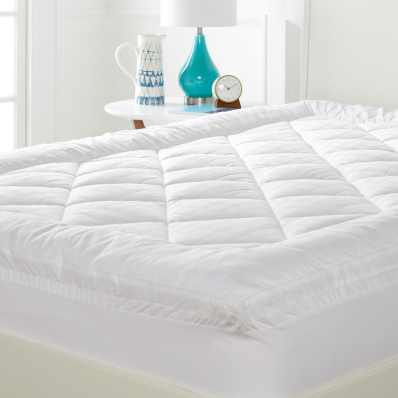 Concierge Collection 450TC 100% Cotton Pillowtop Mattress Topper
