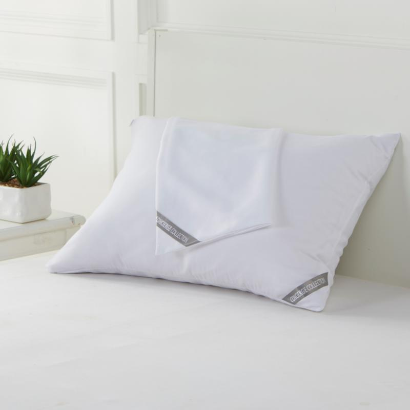 Concierge Collection Microban® Pillow Protector 2-pack
