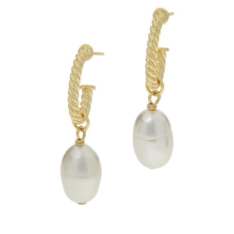 Connie Craig Carroll Jewelry Lauren Cultured Pearl Drop Earrings