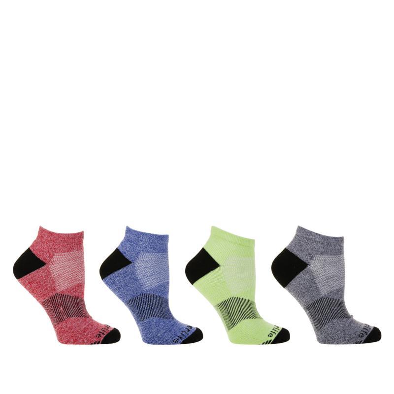 Copper Life 4-pack Men's Ankle Compression Socks