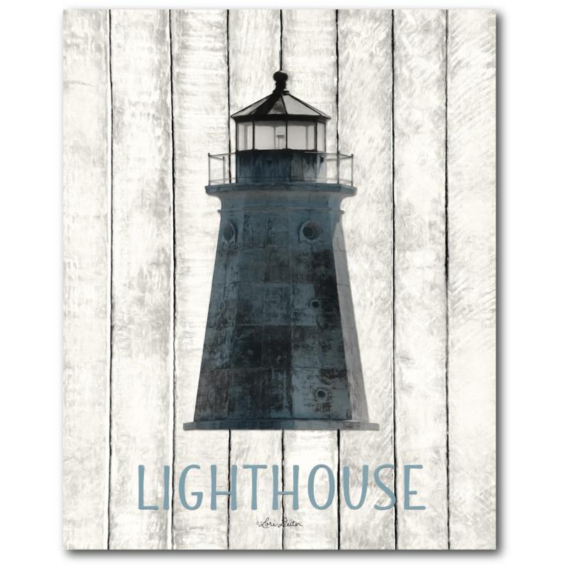 Courtside Market Lighthouse 16x20 Canvas Wall Art