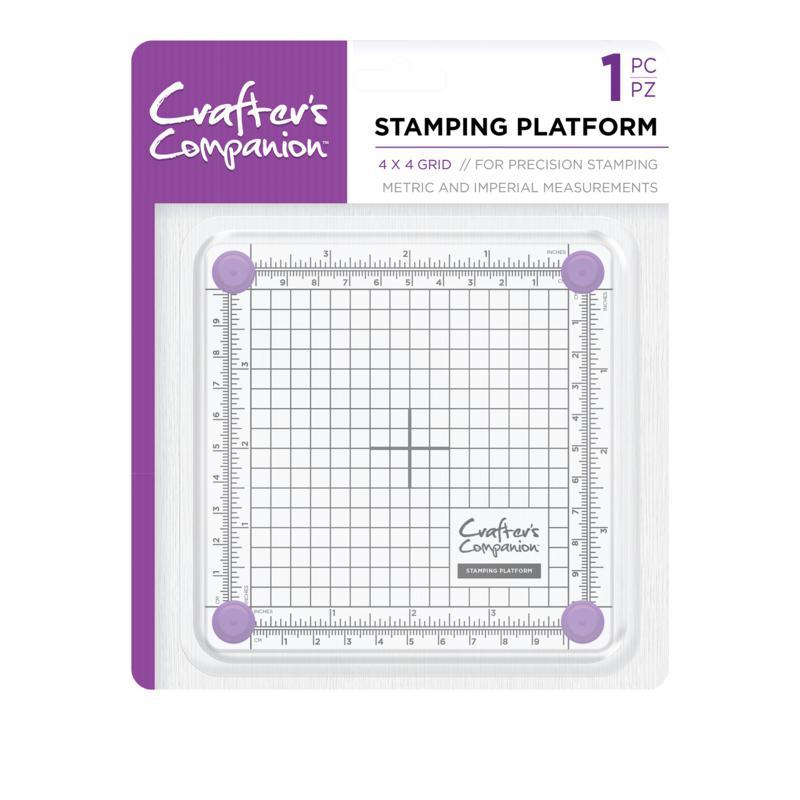 "Crafter's Companion 4"" x 4"" Stamping Platform"