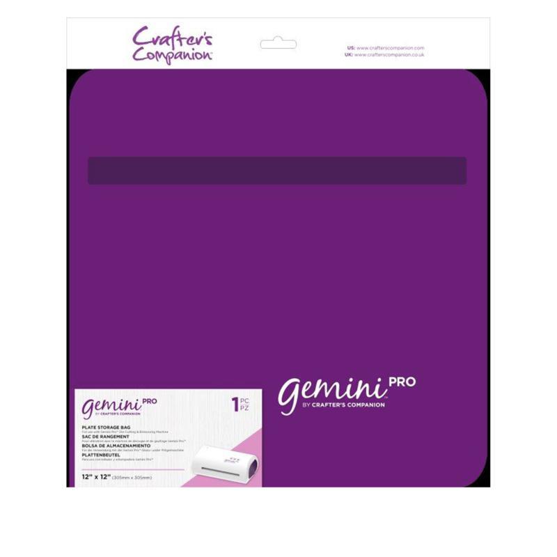"Crafter's Companion Gemini Pro 12"" x 12"" Plate Storage Bag"