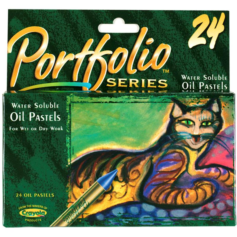 Crayola Portfolio Series Oil Pastel Set of 24