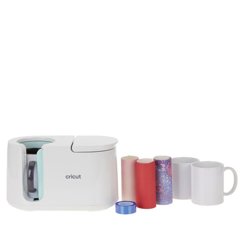 Cricut® Mug Press, Mug Blanks, Infusible Ink and Tape Bundle