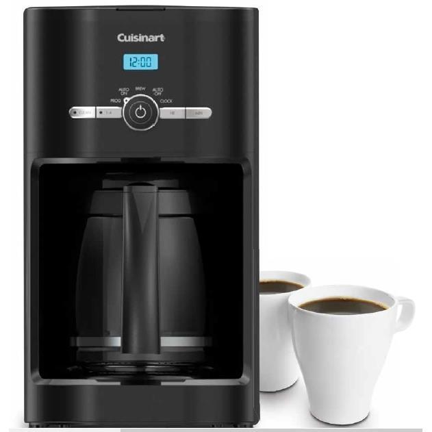 Cuisinart DCC-1120BK 12-Cup Programmable Coffeemaker - Black