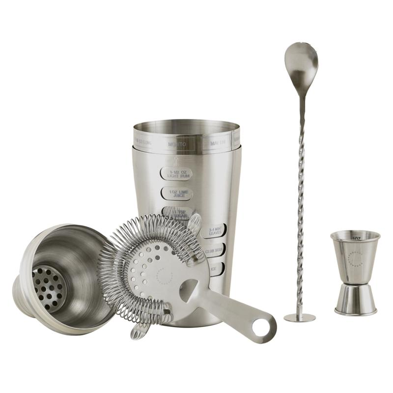Curtis Stone Cocktail Shaker Set