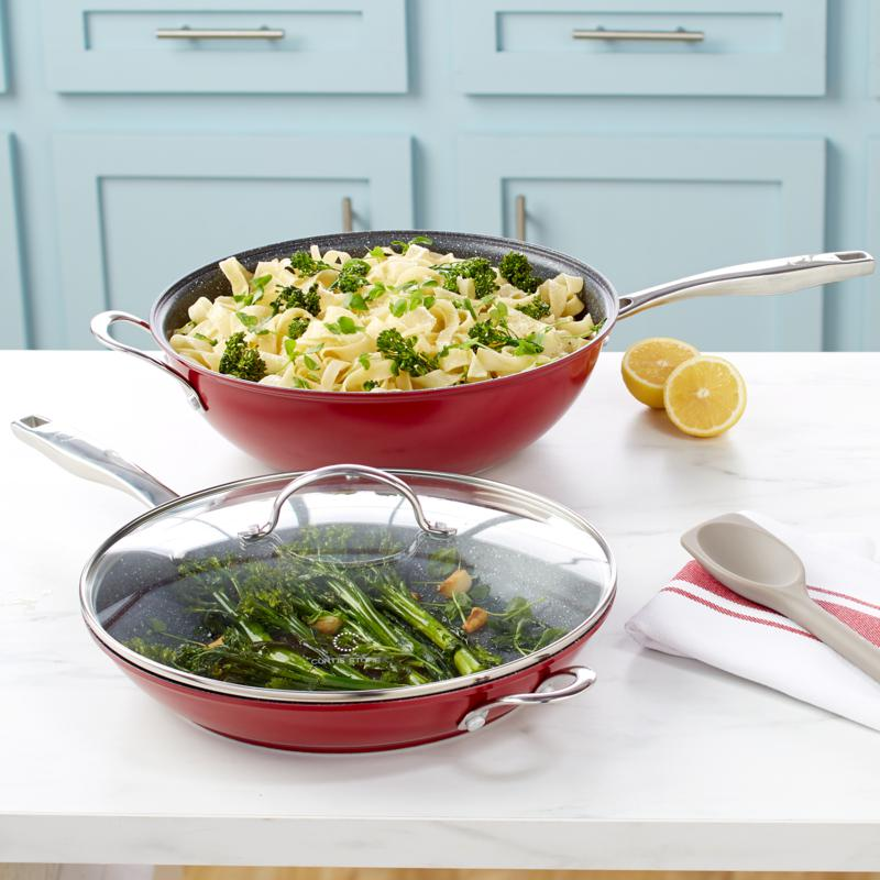 Curtis Stone Dura-Pan All-in-One Pan Set