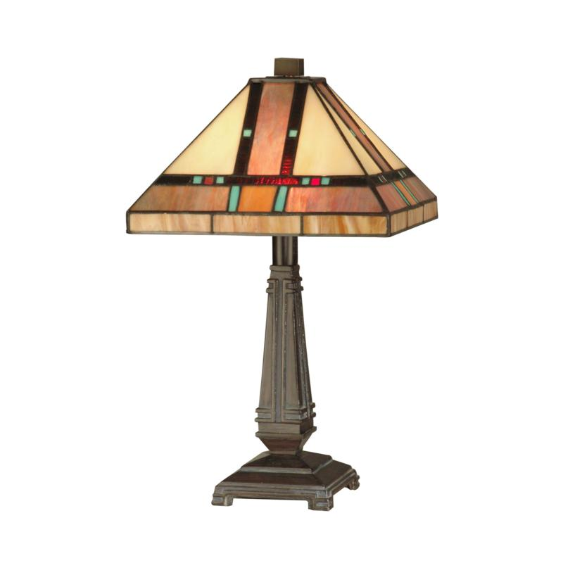 Dale Tiffany Hyde Park Mission Table Lamp