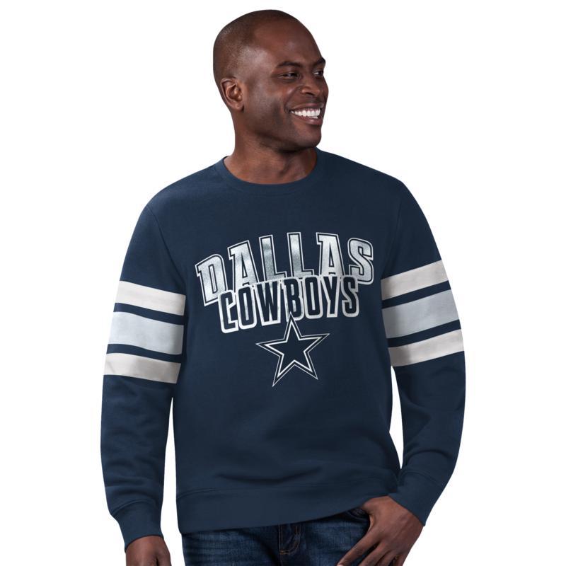 Dallas Cowboys Black Label Men's Fleece Sweatshirt by Glll