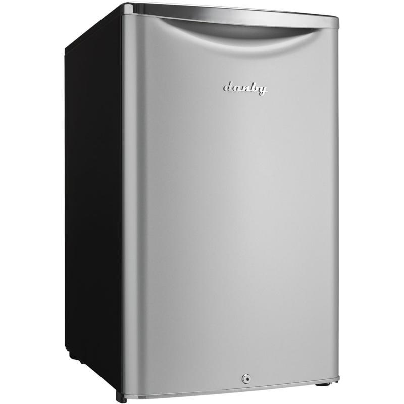 Danby 4.4 CF Classic Compact Refrigerator - Silvertone