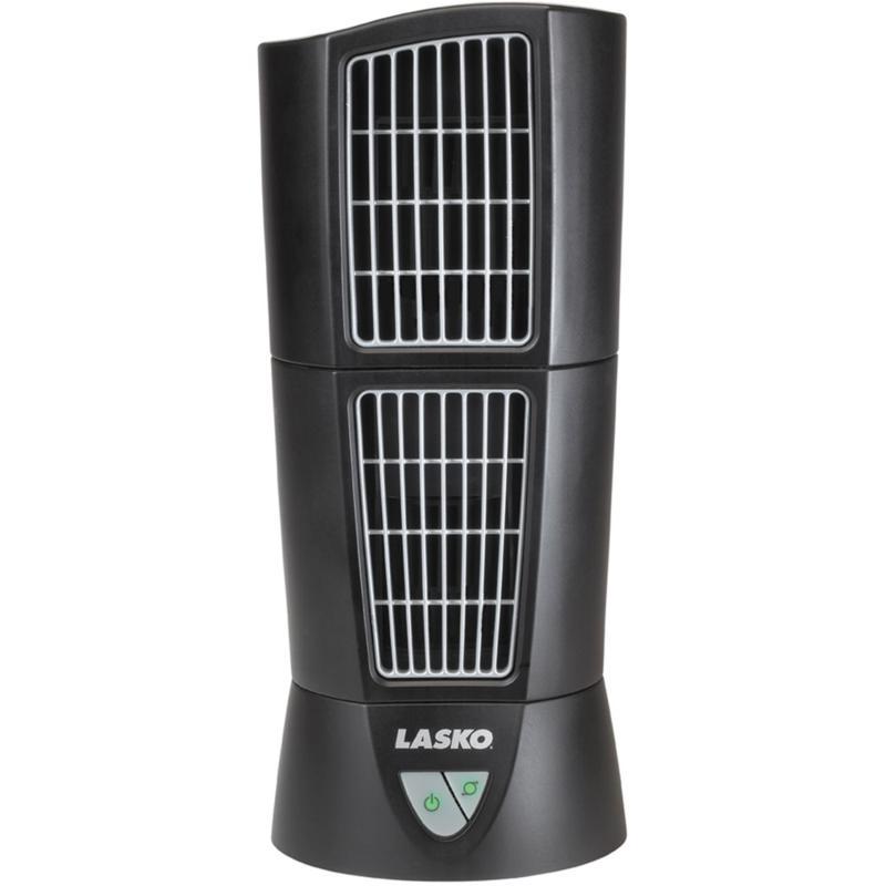Desktop Wind Tower Fan - Black