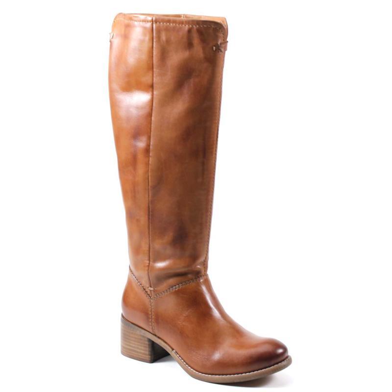 Diba True Week Day Leather Western Knee-High Boot