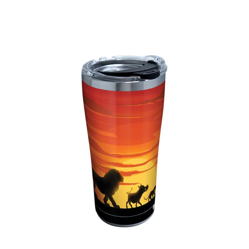 Disney Lion King Silhouette 20 oz Stainless Steel Tumbler with lid