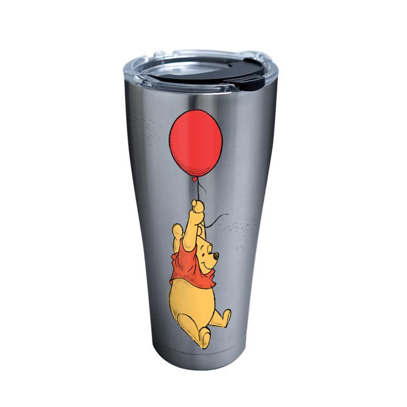 Disney Winnie Pooh Balloon 30 oz Stainless Steel Tumbler with lid