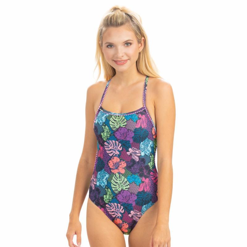 Dolfin Uglies Revibe Printed Diamondback One-Piece Swimsuit