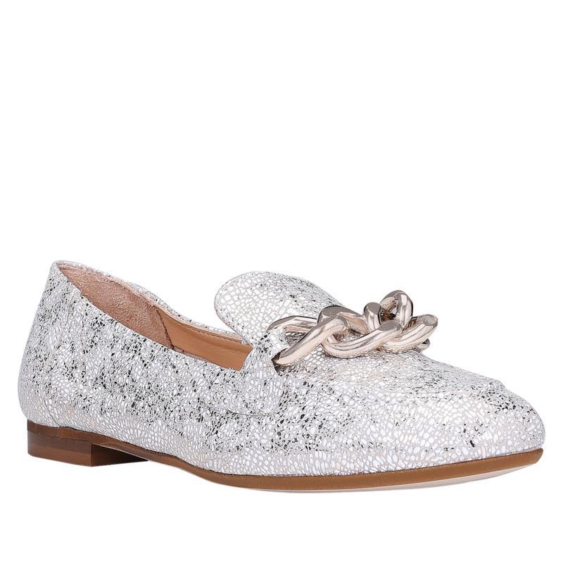 Donald J. Pliner Balton Slip-On Leather Chain Loafer