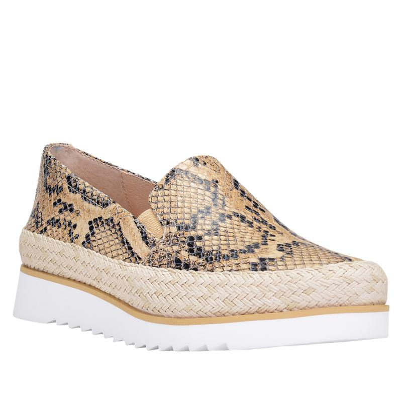 Donald J. Pliner Finni Leather Snake Print Slip-On Sneaker
