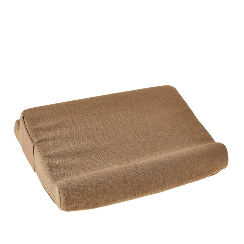 Duo Memory Foam Tablet/Laptop Pillow with 2 Pockets