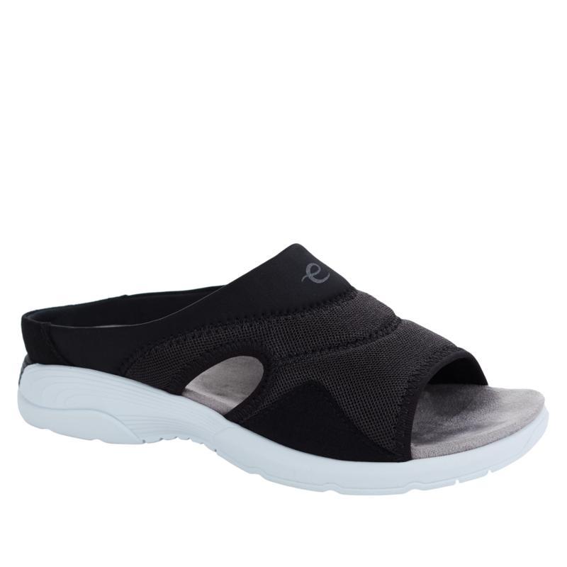 easy spirit Traveltime Teak Slide Sandal