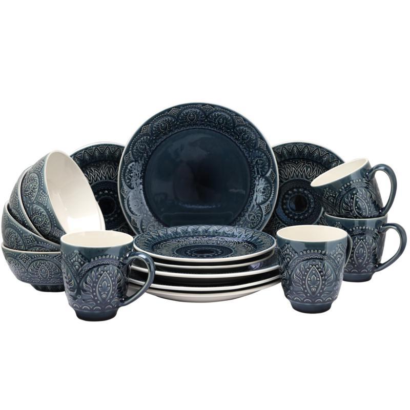 Elama Perta 16-piece  Dinnerware Set