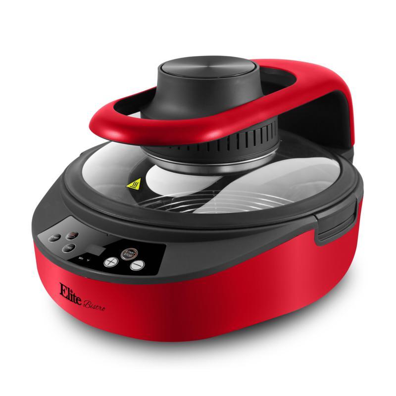 Elite Gourmet 5 Quart Digital Rapid Air Fryer/Multi-Cooker