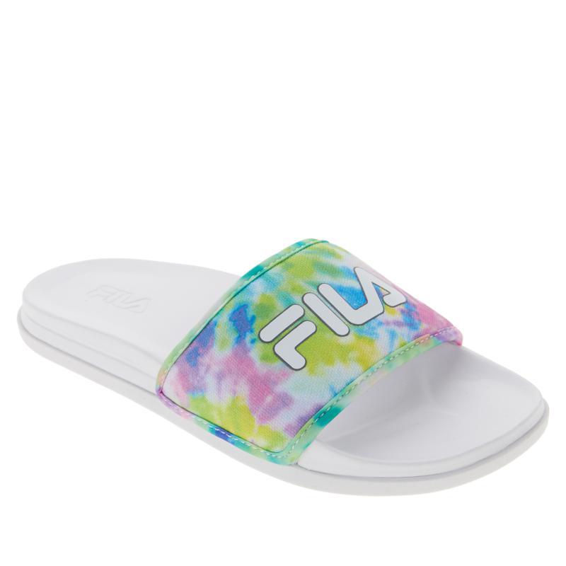 FILA Drifter Lux Tie-Dye Slide Sandal