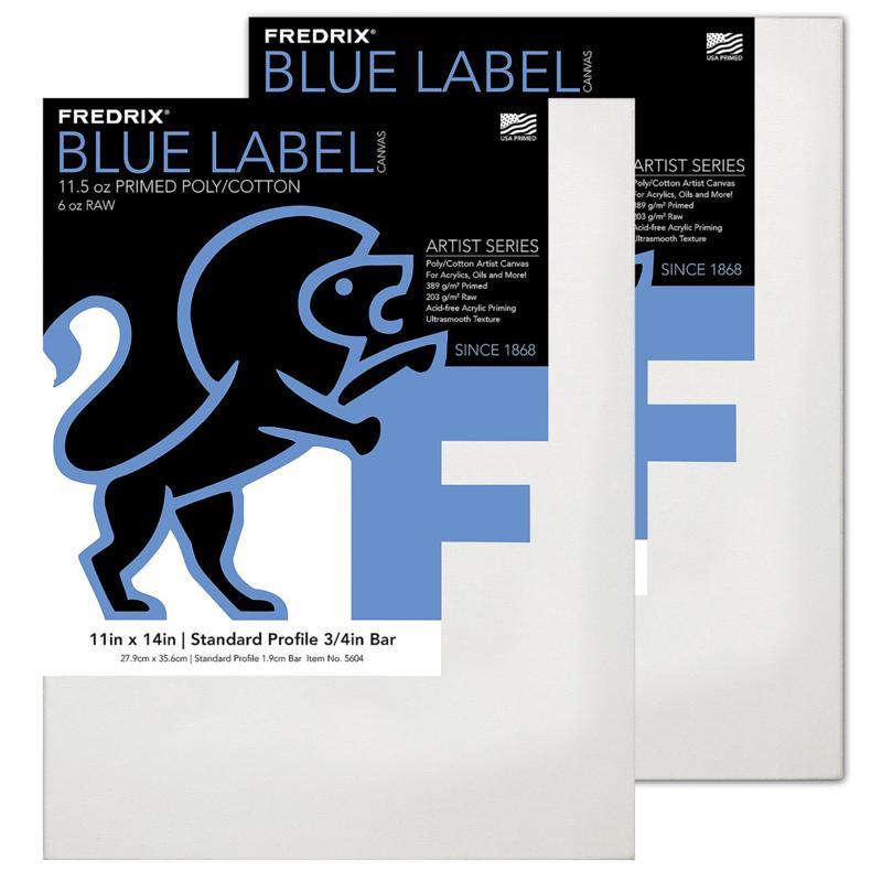 "Frederix Blue Label Portrait Grade Canvas 11"" x 14"""