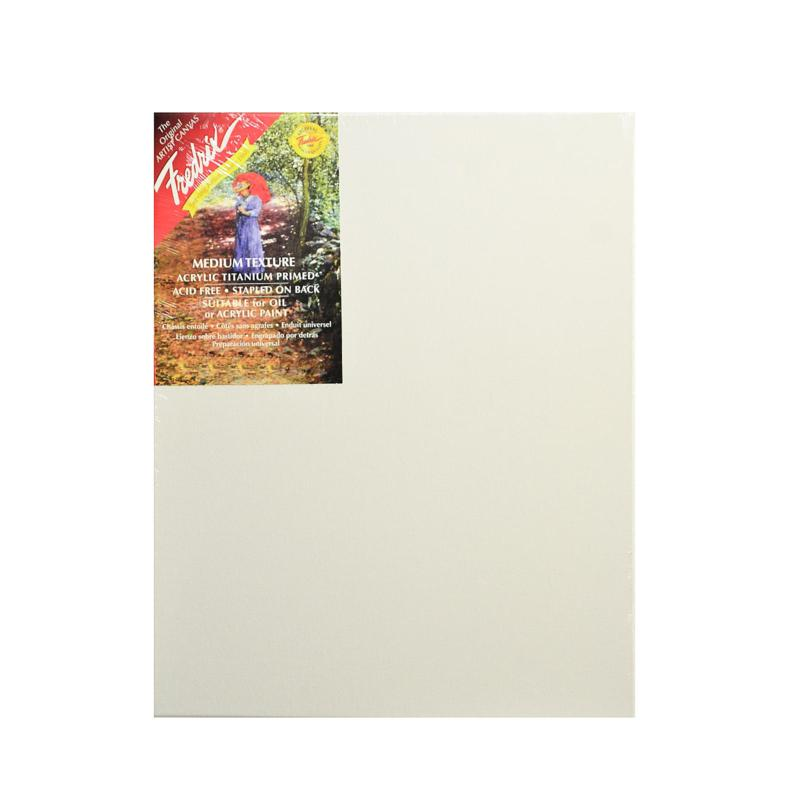 """Fredrix Red Label Stretched Cotton Canvas - 14"""" x 18"""""""