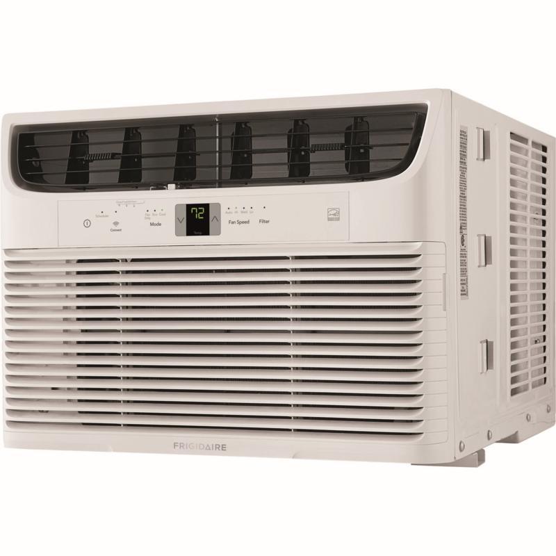 Frigidaire 10,000 BTU Cool Connect Smart Window Air Conditioner, White