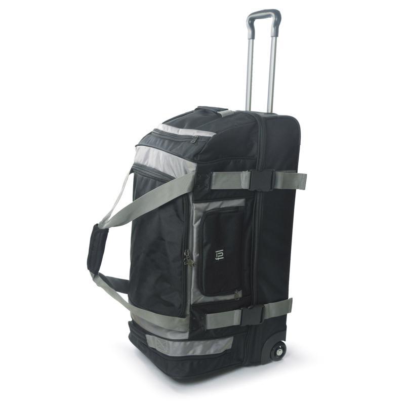 """FUL Rig 30"""" Rolling Duffel Bag - Black"""