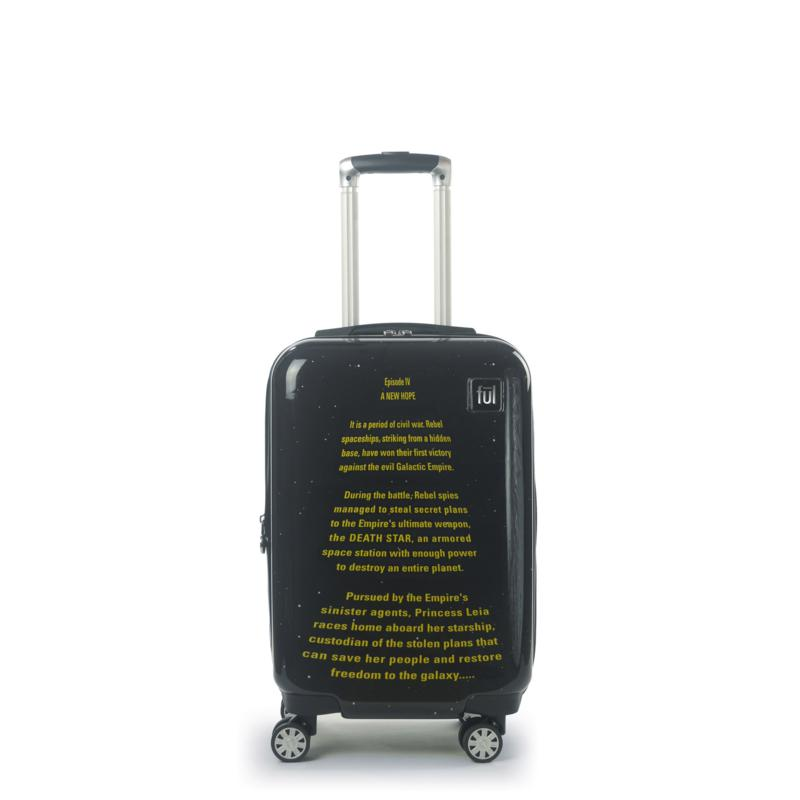 FUL Star Wars A New Hope Opening Crawl Printed 21-inch Luggage Spinner